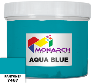 Monarch Vivid - Aqua Blue - Quart