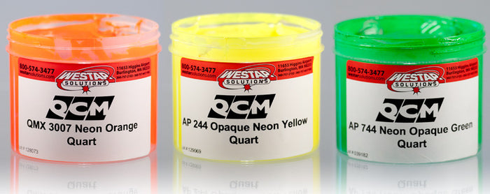QCM  AP244 Neon Opaque Yellow