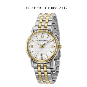 Ultra Classic Couple Watches CJ1068-1112 & CJ1068-2112