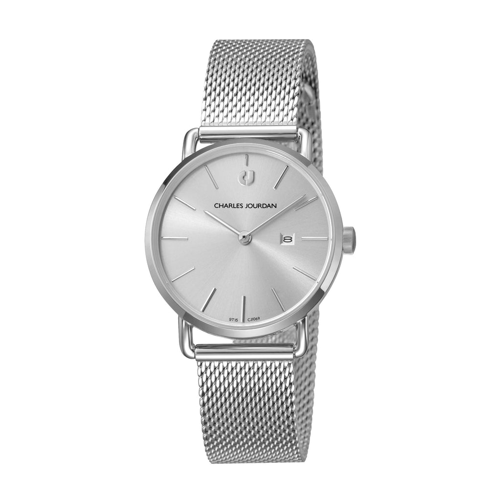 Baron Ultra CJ1069-2312 Women Classic Quartz 32mm Mesh Band