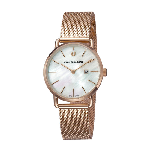 Baron Ultra CJ1069-2552 Women Classic Quartz 32mm Mesh Band