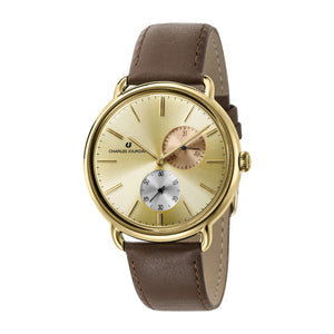Ultra CJ1070-1222 Men Classic Multi-Function 42mm Leather