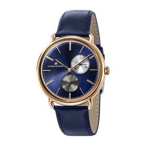 Ultra CJ1070-1582 Men Classic Multi-Function 42mm Leather