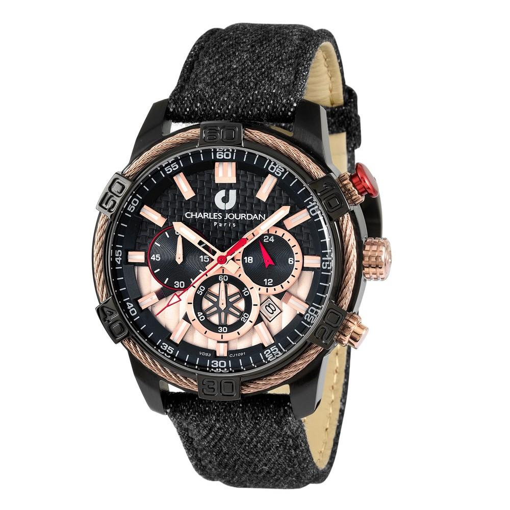 Ludis CJ1091-1732C Men Chronograph 46mm Denim
