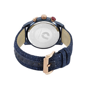 Ludis CJ1091-1882C Men Sports Chronograph 46mm Denim