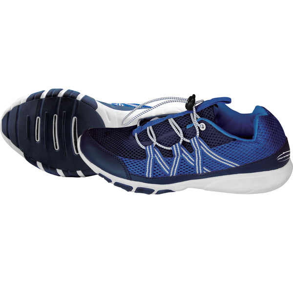 Mirage Air Cushion Water Shoes with Custom Speed Lacing System Blue Size 5-13