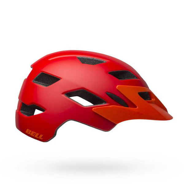 Bell Sidetrack Kids Bike Helmet MATT RED ORANGE UY-50-57cm