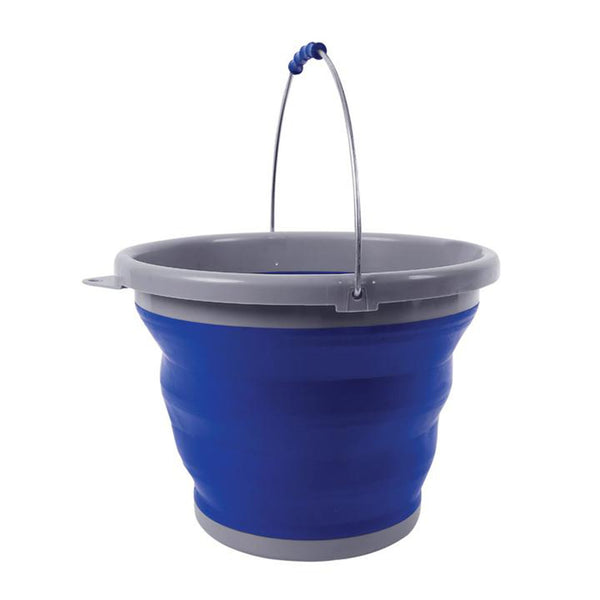 Caribee Folding Bucket 10LT BLUE