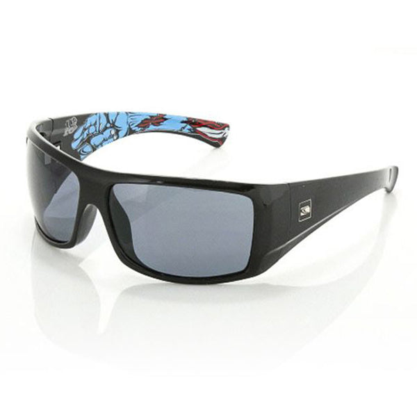 Carve Wolfpak Black Signature Grey Polarised Lens Sunglasses
