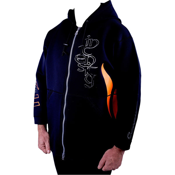 Intensity Neo Spray Jacket Black Silver Orange