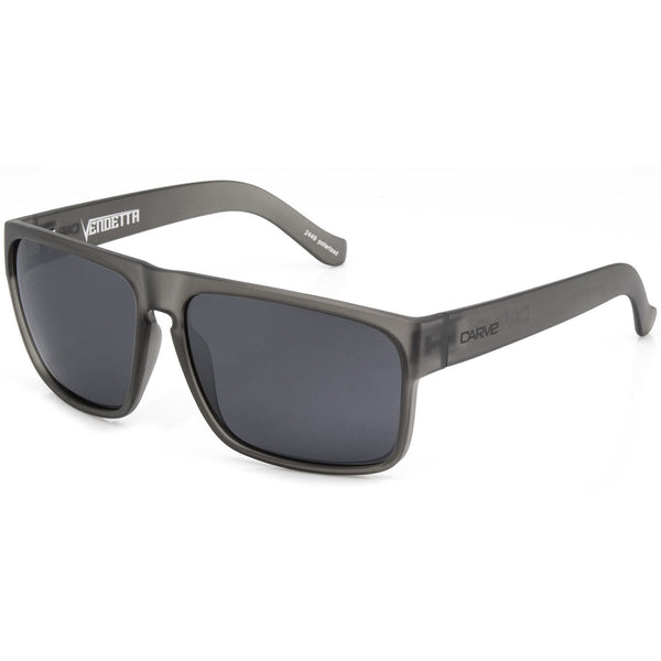 Carve Vendetta Grey Transparent/Grey Polarised Lens Men's Sunglasses