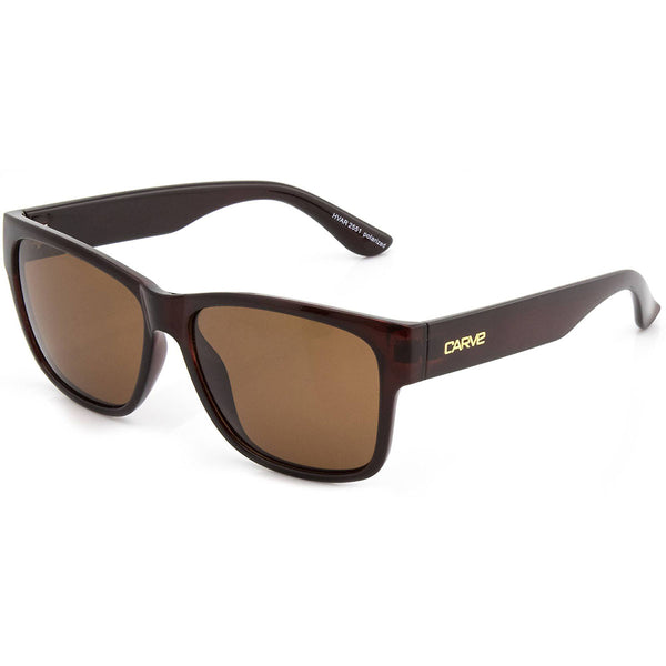 Carve Hvar Gloss Brick Brown POLARISED Lens Sunglasses