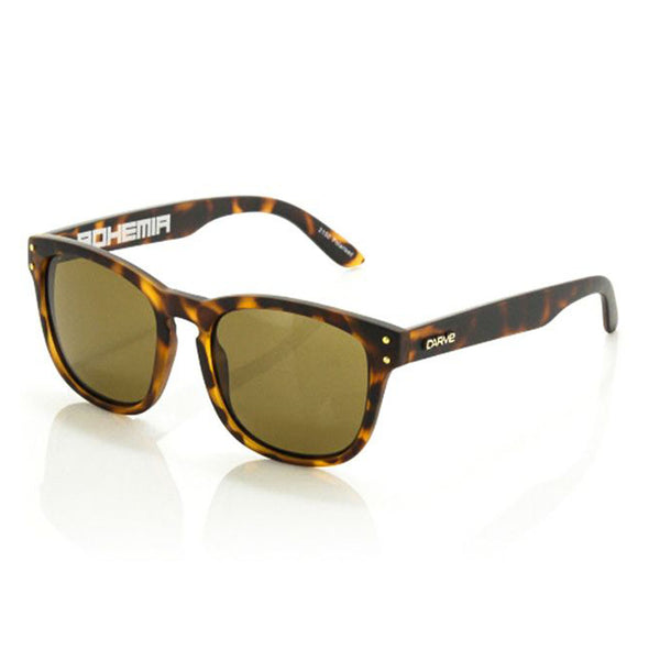 Carve Bohemia Matte Tort Brown Polarised Lens Sunglasses