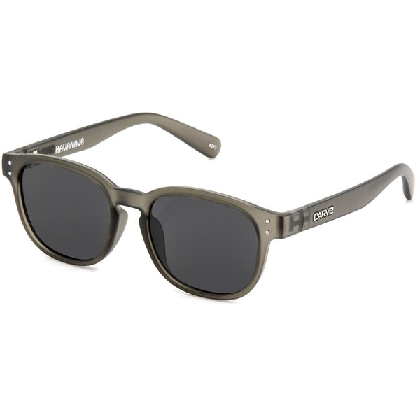 Carve Havana KIDS Grey Trans Grey Lens Sunglasses