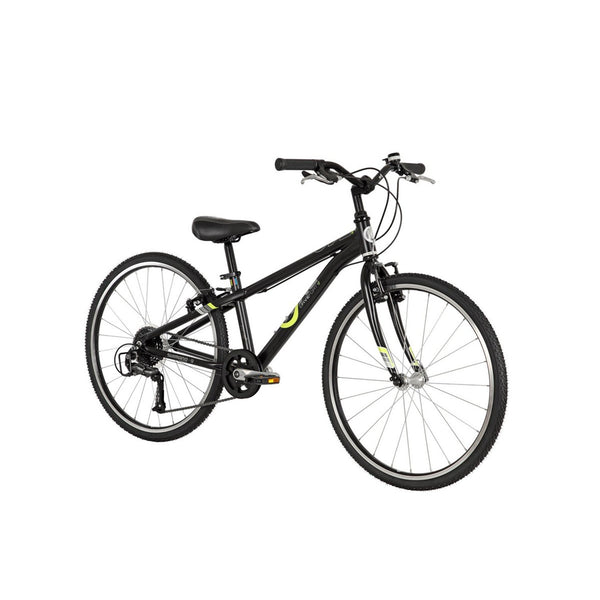 BYK E-540X9 Geared Kids Bike Bicycle BLACK NEON YELLOW