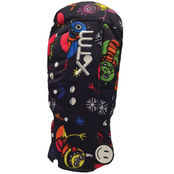 XTM Tots Snow Ski Winter Mitts BK002 MONSTER 2XS