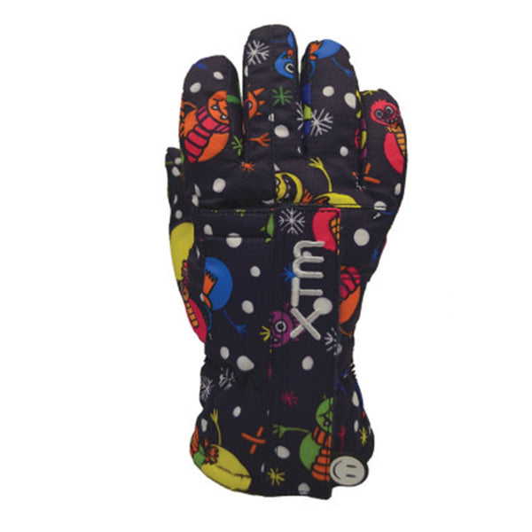 XTM Tots Snow Ski Winter Gloves BK003 MONSTER 2XS