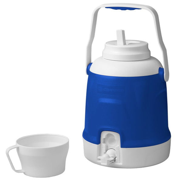 Caribee 5L Cooler Jug BLUE