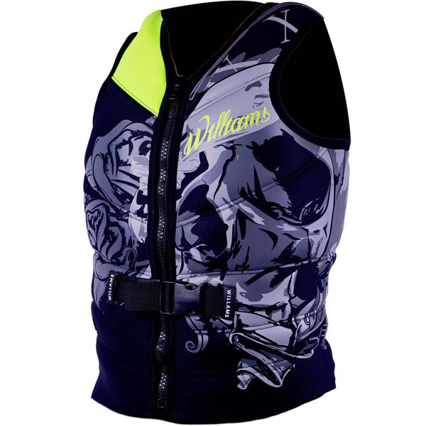 Williams Mens Sector Neoprene Buoyancy Vest Sizes 3XL-4XL