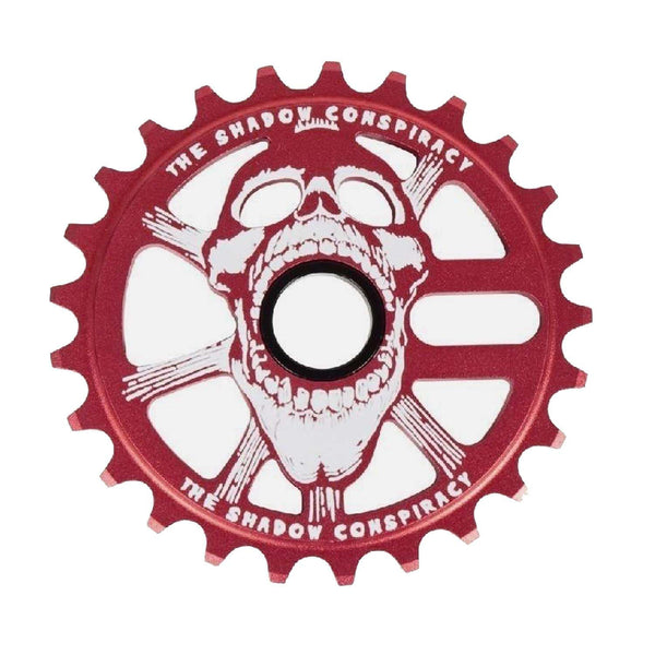The Shadow Conspiracy Scream BMX Sprocket 25T Crimson RED