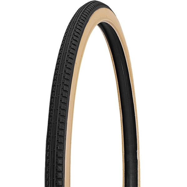 "Duro Light Tread Replacement Tyre Yellow-Gum Side Wall HF-111 - 24-26"" x 1-3/8"""