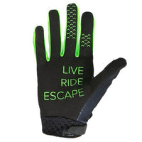Jet Pilot Matrix RX Super Lite Gloves Black/Green #JA19305