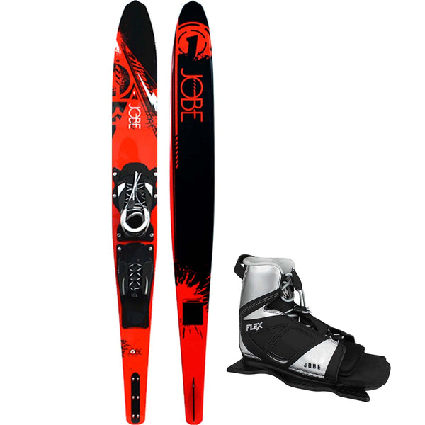 Jobe Assault Slalom Ski with Flex Binding