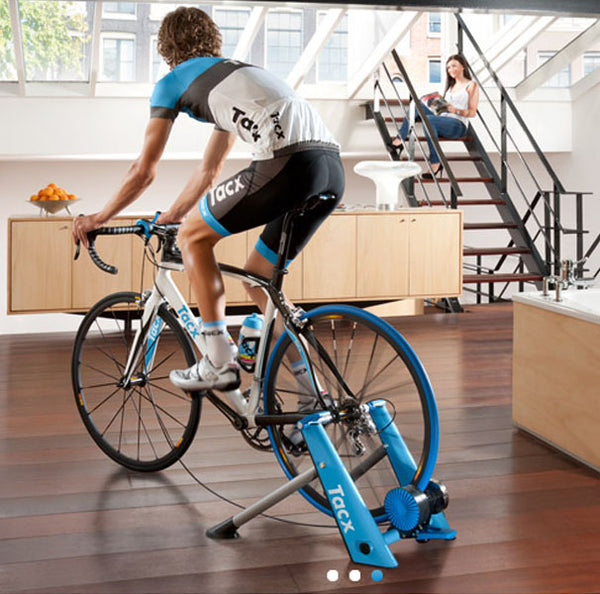 Tacx Satori Blue Matic Wind Trainer T2650