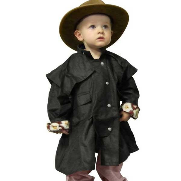 Wetherall Oilskin Winter Waterproof Coat Jacket for Toddlers 1 - 4 years
