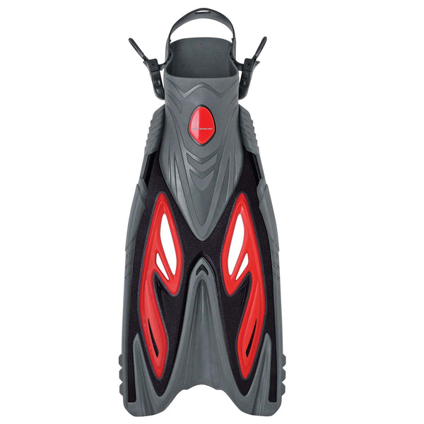 Mirage Diamond Gold Series Snorkel Fins ONLY S/M RED