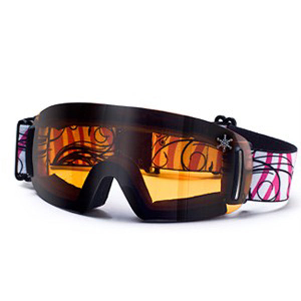 Dirty Dog Frameless Flip Snow Ski Goggles