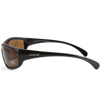 Dirty Dog Swivel 52825 Polished Black/Brown Polarised Men's Sunglasses