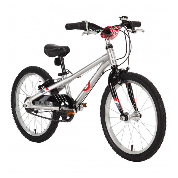 BYK E-350X3I MTR Kids Bike Bicycle SILVER ALLOY BLACK