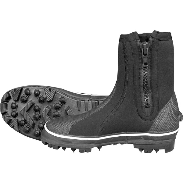 Mirage Rockhopper Sturdy Wetsuit Boots With Steel Spikes for Rock Fishing