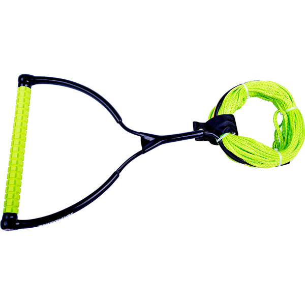 Hardline Waffle Wakeboard Rope Handle Package Poly GREEN