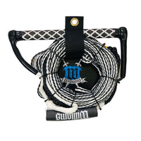 Williams Water Ski Rope & Handle LONG V with Float BLACK 5614E