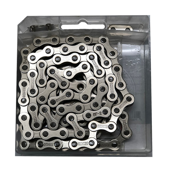 "KMC BMX Chain S1 1/2 x 1/8"" x 112 links, Single Speed, SILVER"