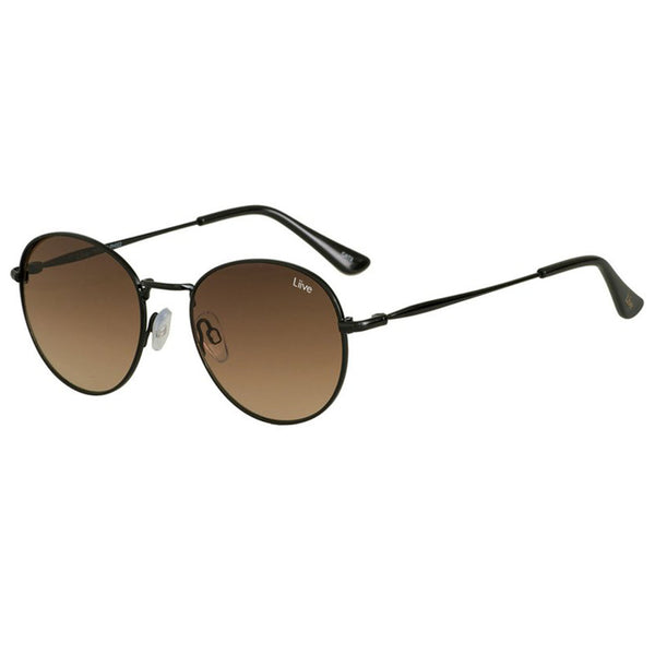 Liive Vision Impala Polar Matt Black Sunglasses