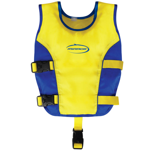 Mirage Junior Swim Vest YELLOW BLUE