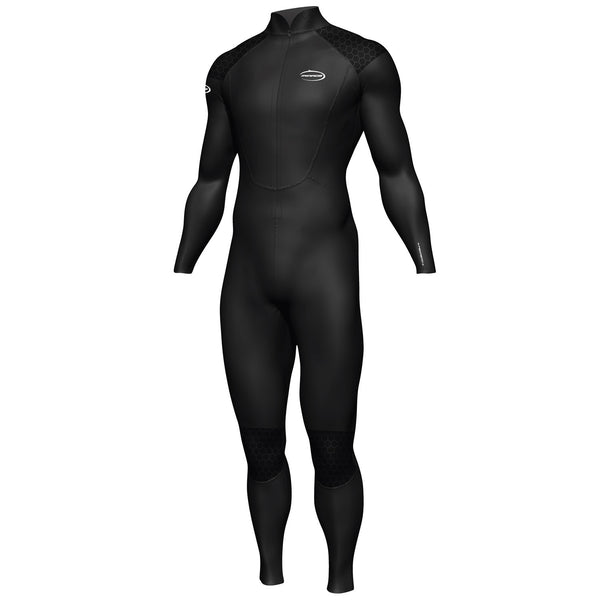 Mirage Mens Steamer Wetsuit Black 1.5mm L