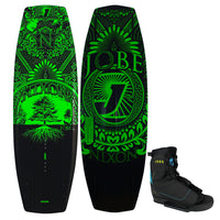Jobe Nixon Mens Wakeboard with Control Boots Package