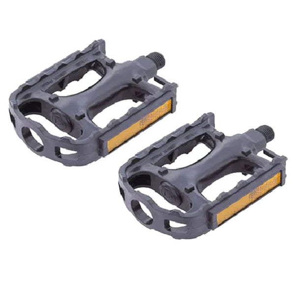 "VP Bike MTB Pedals 1/2"" Plastic Black"