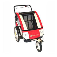 Pro Series Child Bicycle Trailer Jogger - Red