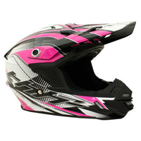 THH TX-15 Kids Race Helmet BLACK/PINK