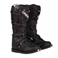 Oneal Adult Rider Motocross Dirtbike Boots - Black