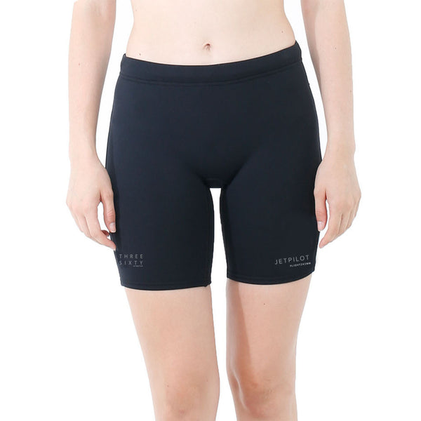 "Jet Pilot Flight 7"" Ladies Neoprene Wetsuit Shorts S19509"
