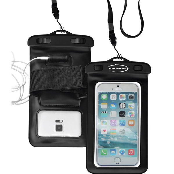 Mirage Waterproof Phone Pack with Earphone Port & Armband
