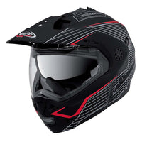 Caberg Tour Max Sonic Motorcycle Helmet MATT BLACK / RED