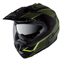Caberg Tour Max Sonic Motorcycle Helmet MATT BLACK / YELLOW FLUO
