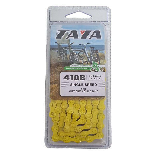 Taya BMX Bike Chain Royal YELLOW